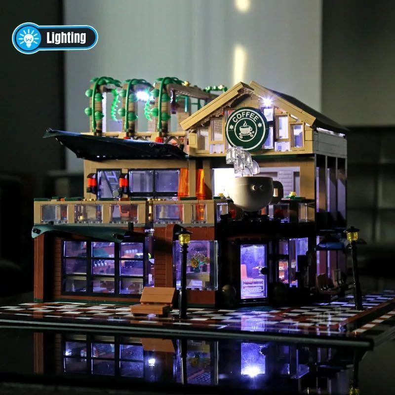 LEGO互換 コーヒーショップ 総額12480円_画像6