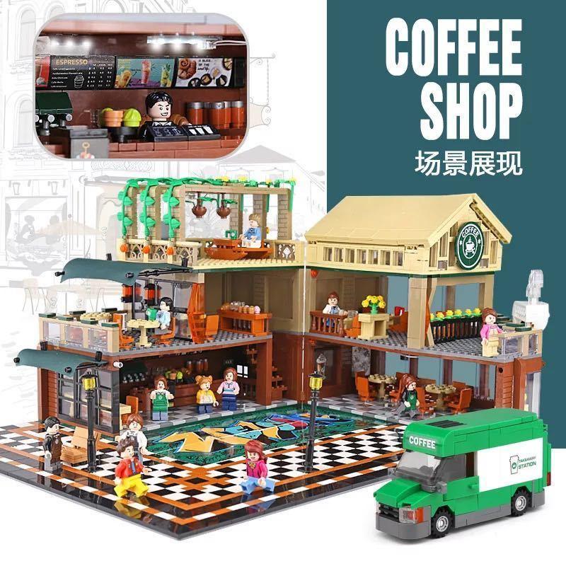 LEGO互換 コーヒーショップ 総額12480円_画像1