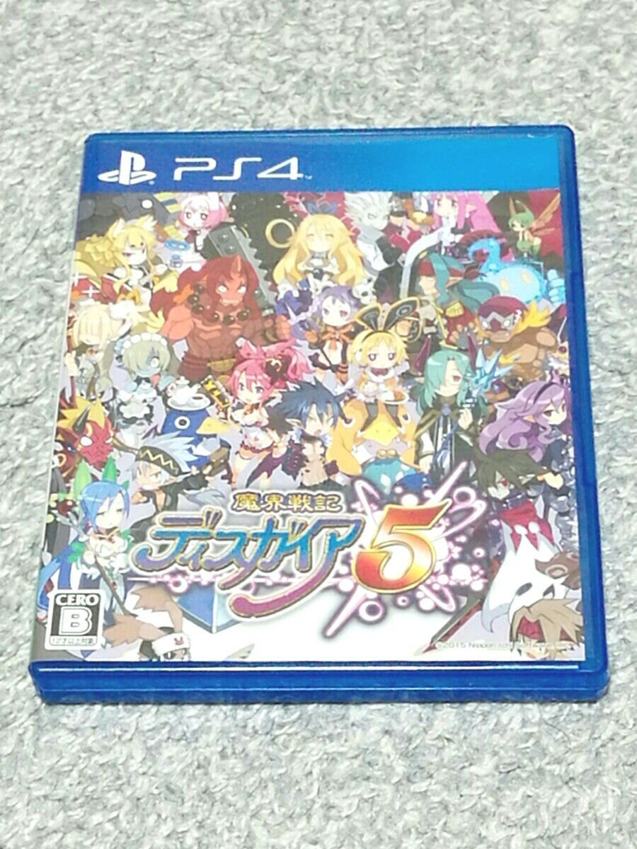 PS4 ディスガイア5