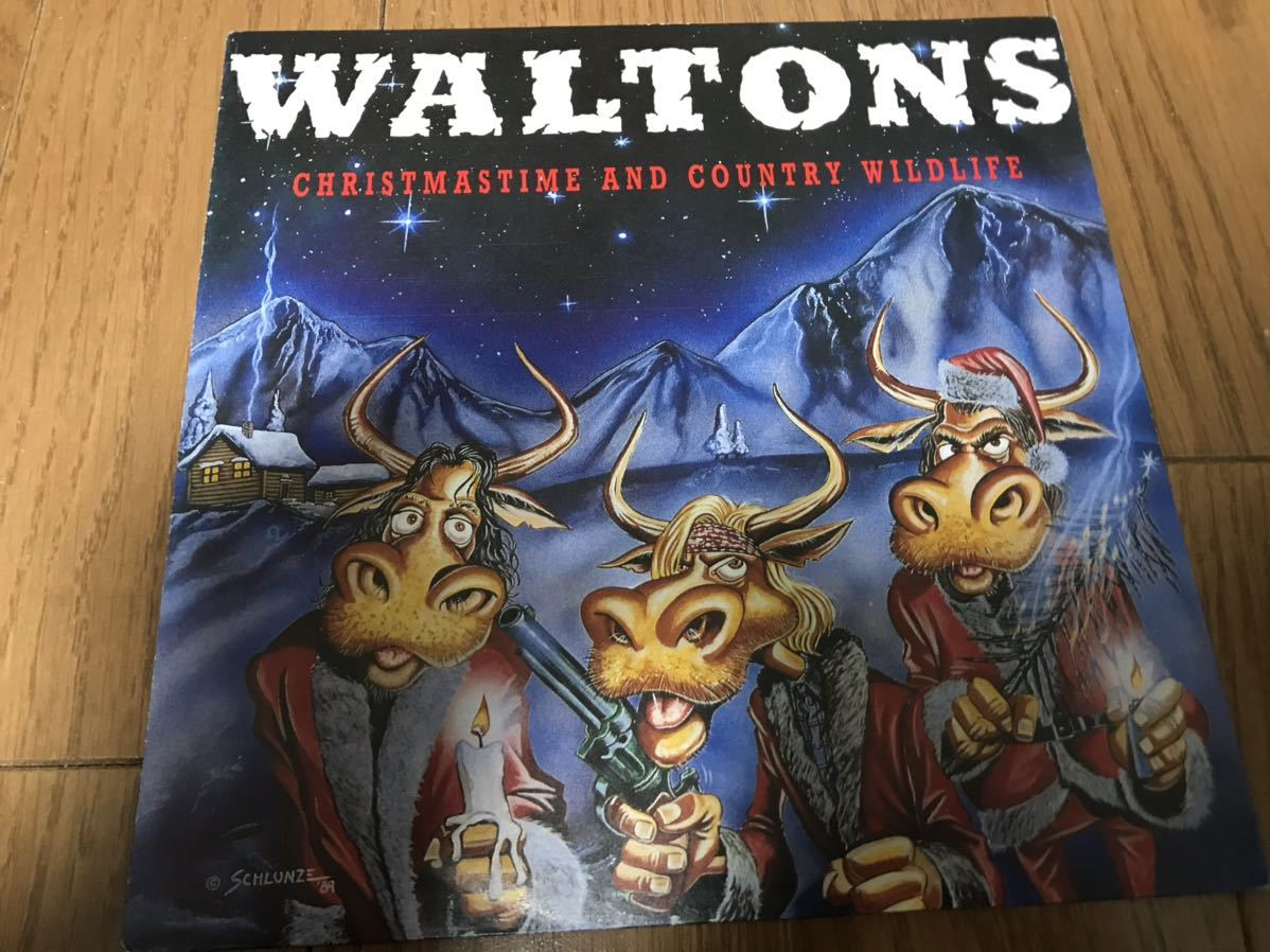 Waltons / Christmastime And Country Wildlife サイコビリー ラスティック ロカビリー ネオロカ_画像1