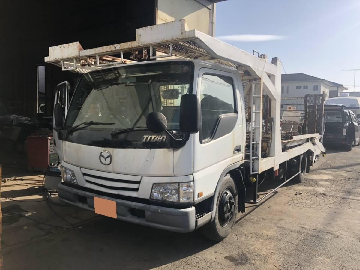 「タイタン 積載車 3台積み キャリアカー NOX・PM適合」の画像2