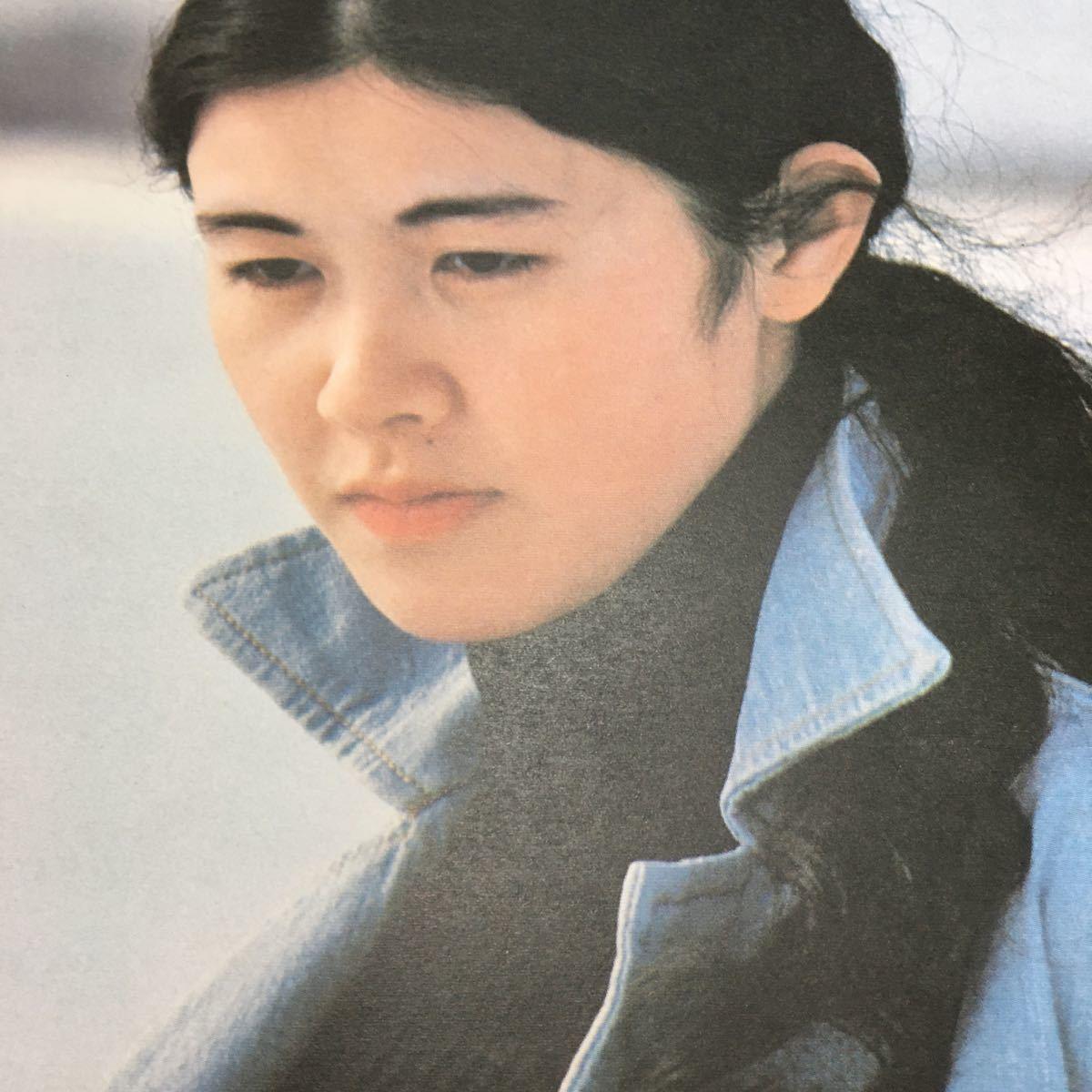 【中島みゆき・私の声が聞こえますか】ファーストアルバム LP レコード 時代 アザミ嬢のララバイ  1976年 YAMAHA【20/02 J2】_画像5
