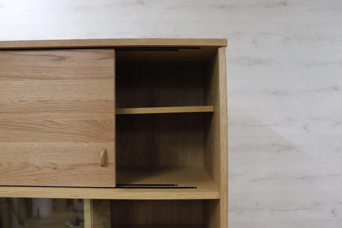 GMDK32 ○ unico / ウニコ SIGNE(シグネ) キッチンボード 北欧スタイル 食器棚 カップボード ☆展示訳あり品 定価118.800_画像7