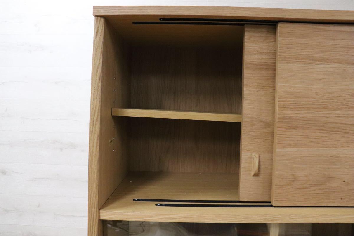 GMDK32 ○ unico / ウニコ SIGNE(シグネ) キッチンボード 北欧スタイル 食器棚 カップボード ☆展示訳あり品 定価118.800_画像8