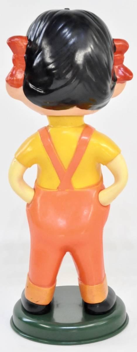 昭和ビンテージ ペコちゃん 人形 不二家 ノベルティ 首振り人形 2体セット 店舗ディスプレイにいかがですか?(管理番号:100)_画像8