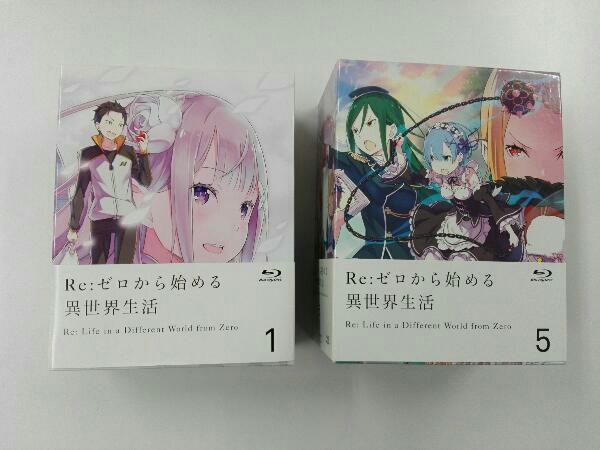 【※※※】[全9巻セット]Re:ゼロから始める異世界生活 1~9(Blu-ray Disc)_画像1