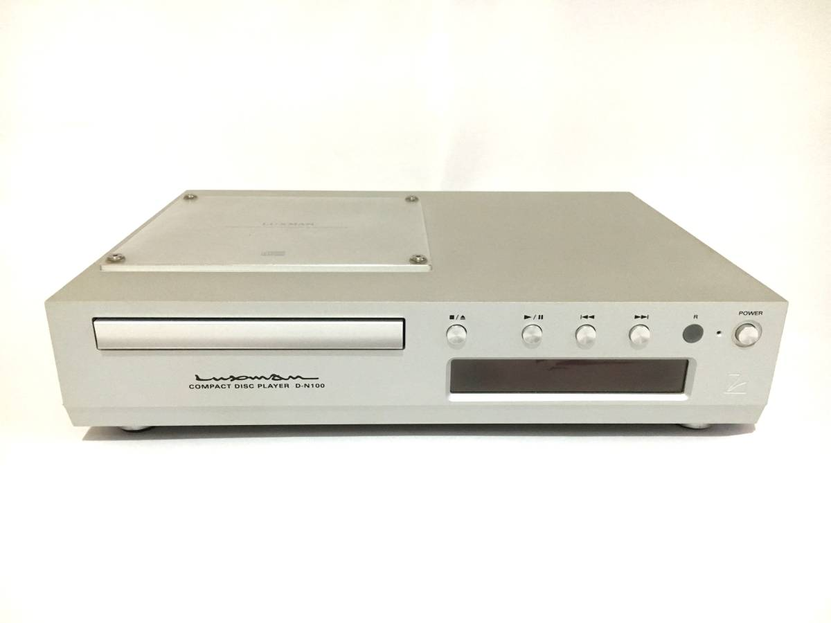 beautiful goods rare rare *LUXMAN* Luxman D-N100 compact disk player guarantee equipped