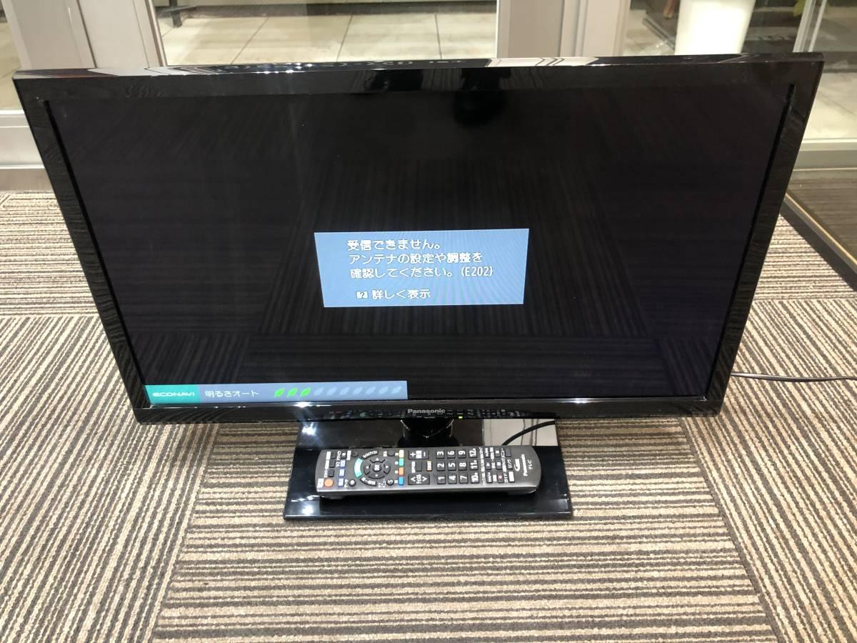 1円 美品 2015年製 Panasonic パナソニック 24V型 液晶テレビ VIERA ビエラ TH-