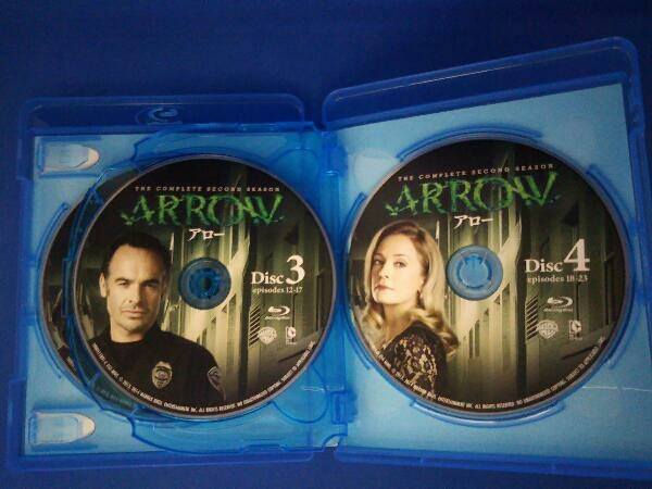 ARROW/アロー<セカンド・シーズン> コンプリート・ボックス(Blu-ray Disc)_画像3