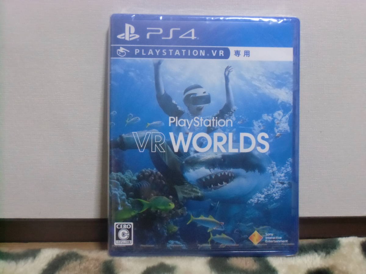 【未開封新品】PS4ソフト PlayStation ★VR WORLDS  VR専用