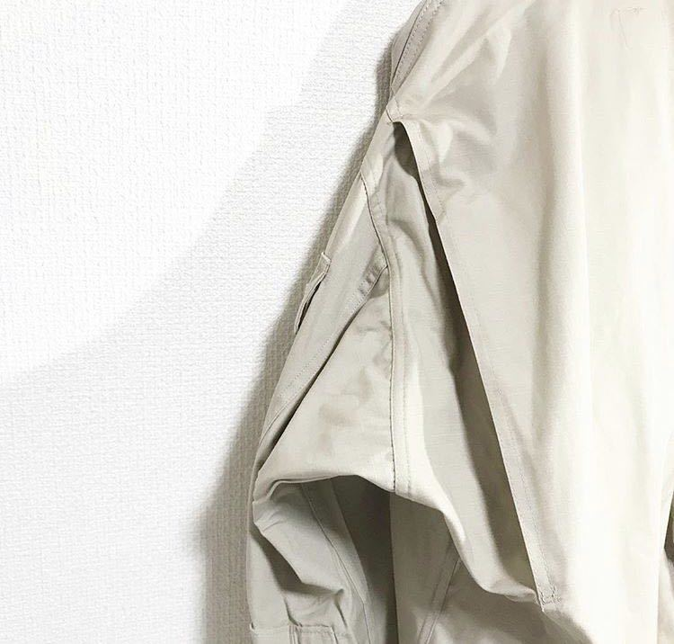 vintage ヴィンテージ ビンテージ usa us.army 米軍 軍物 軍モノ ミリタリー ベージュ カーキ 変形 BDUジャケット シャツ ブルゾン_画像8