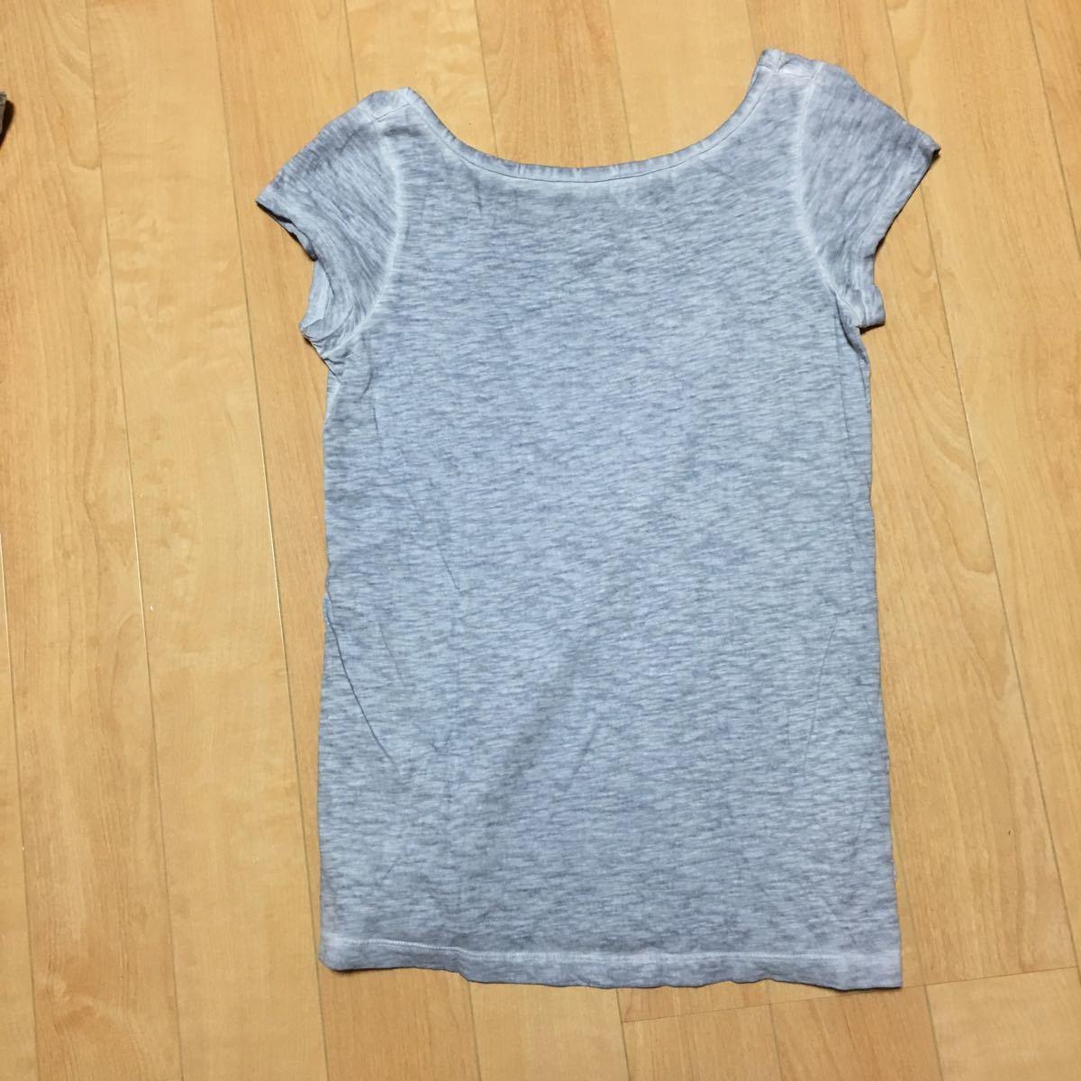 トップス カットソー 半袖Tシャツ 半袖 gap