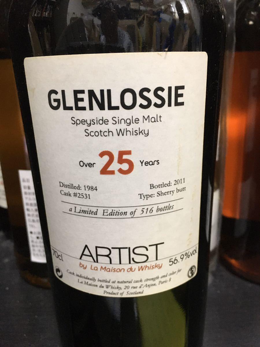 アーティスト グレンロッシー 1984年 25年超 シェリーバット 56.9% ラ・メゾン・ド・ウイスキー スリーリバース スリーリバーズ_画像4
