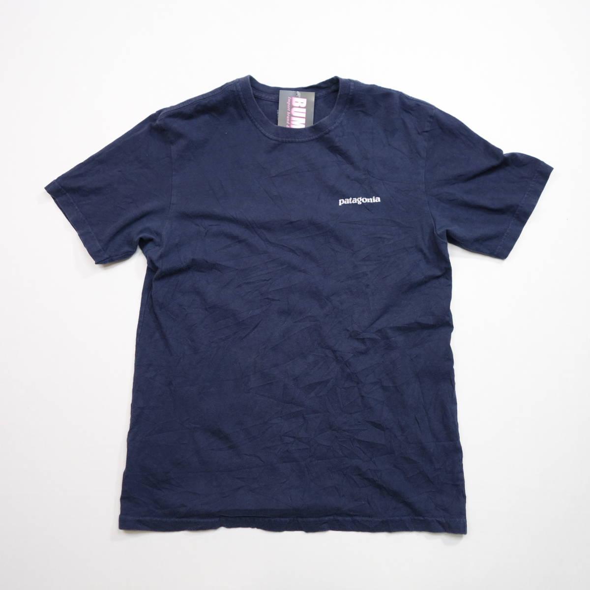 パタゴニア patagonia Tシャツ 半袖 メンズ S クルーネック バックプリント アウトドア カジュアル アメリカ USA直輸入 古着 MNO-1-1-0510_画像2