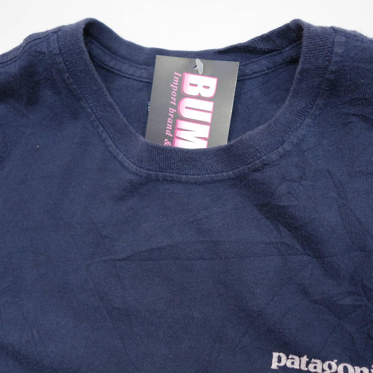 パタゴニア patagonia Tシャツ 半袖 メンズ S クルーネック バックプリント アウトドア カジュアル アメリカ USA直輸入 古着 MNO-1-1-0510_画像4