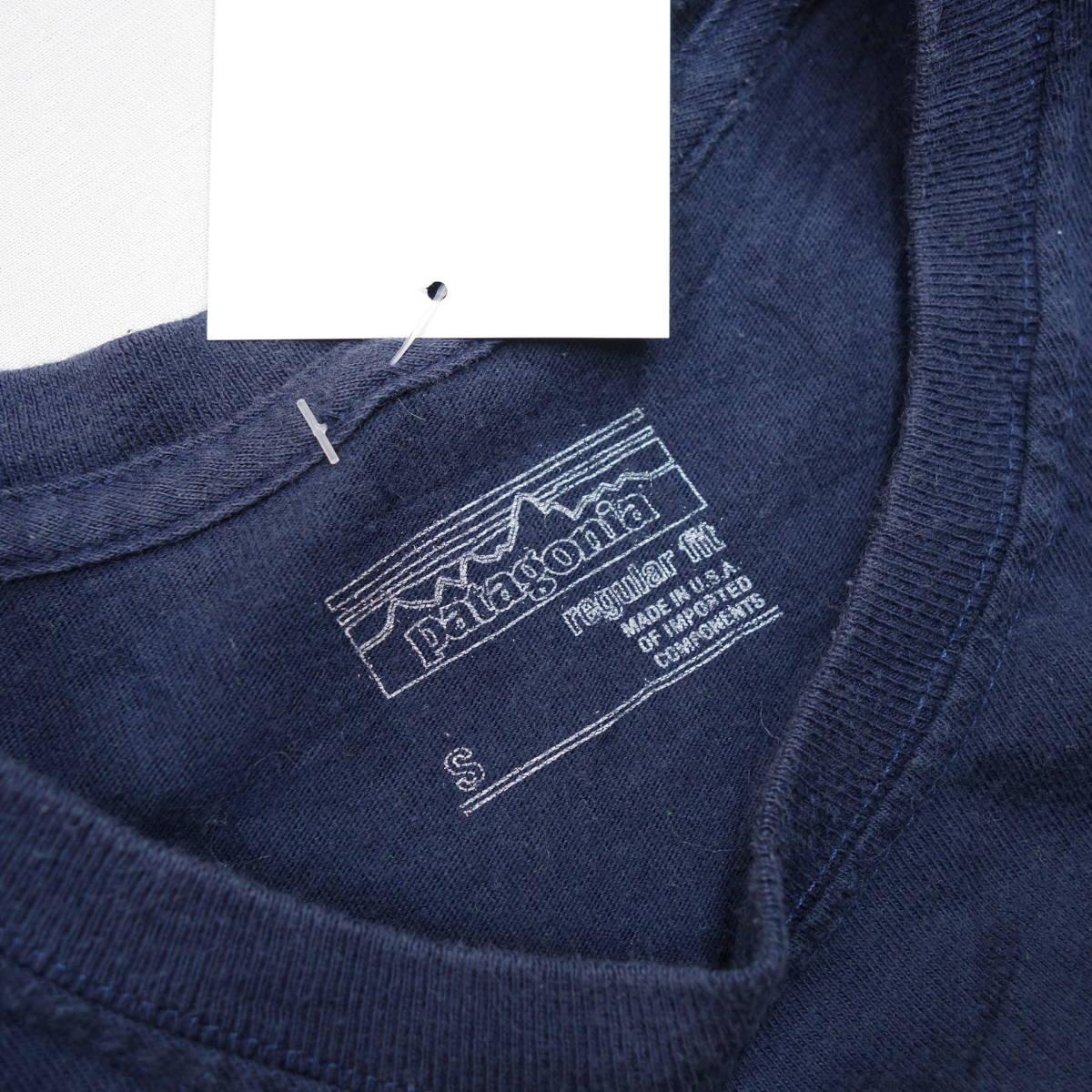 パタゴニア patagonia Tシャツ 半袖 メンズ S クルーネック バックプリント アウトドア カジュアル アメリカ USA直輸入 古着 MNO-1-1-0510_画像5