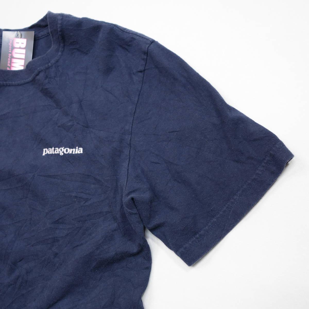 パタゴニア patagonia Tシャツ 半袖 メンズ S クルーネック バックプリント アウトドア カジュアル アメリカ USA直輸入 古着 MNO-1-1-0510_画像6