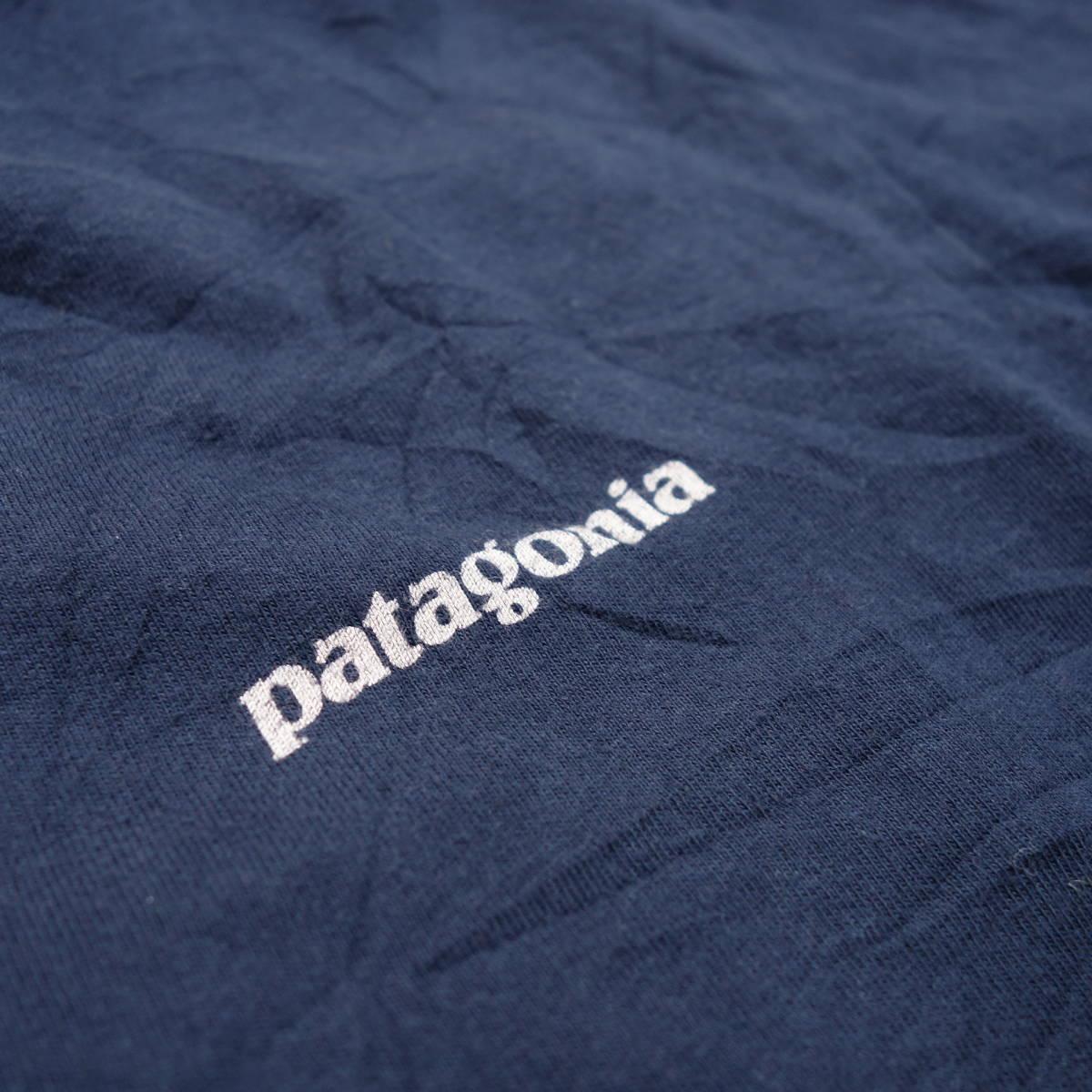 パタゴニア patagonia Tシャツ 半袖 メンズ S クルーネック バックプリント アウトドア カジュアル アメリカ USA直輸入 古着 MNO-1-1-0510_画像7