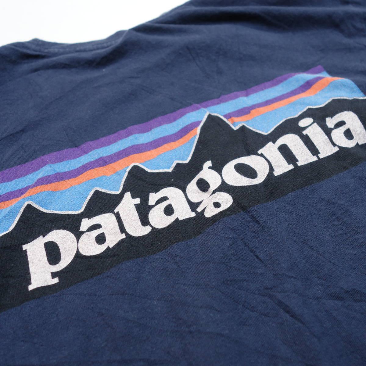 パタゴニア patagonia Tシャツ 半袖 メンズ S クルーネック バックプリント アウトドア カジュアル アメリカ USA直輸入 古着 MNO-1-1-0510_画像8