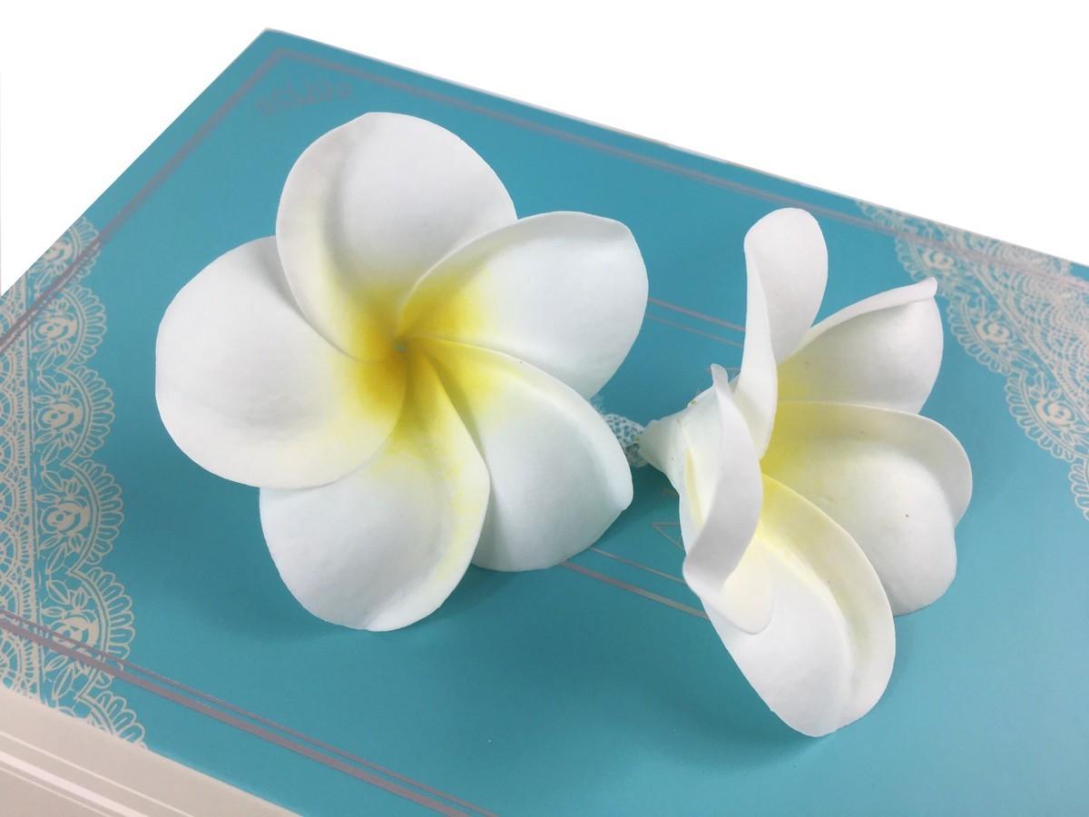 バスフレグランス 【 プルメリア ブックボックス 】 ソープフラワー バスフラワー ハワイ ギフト 花の形の入浴剤 入浴料 母の日_画像6