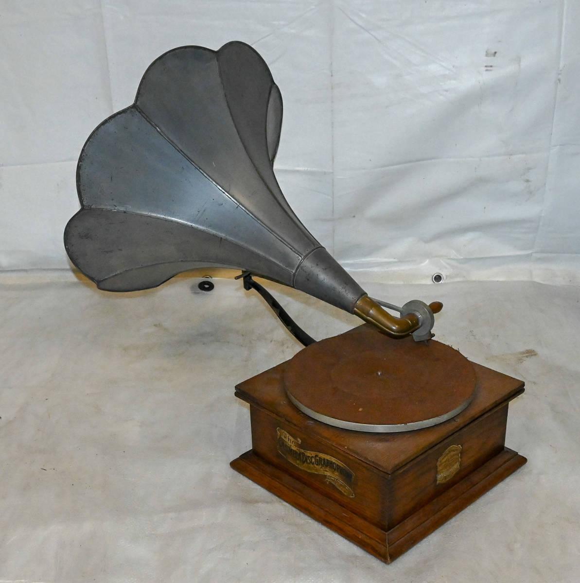 明治37年 / 1904年 Columbia / コロムビア Imperial Style X 型 初期蓄音器 欠品なし 一応動作 非常に珍しいです