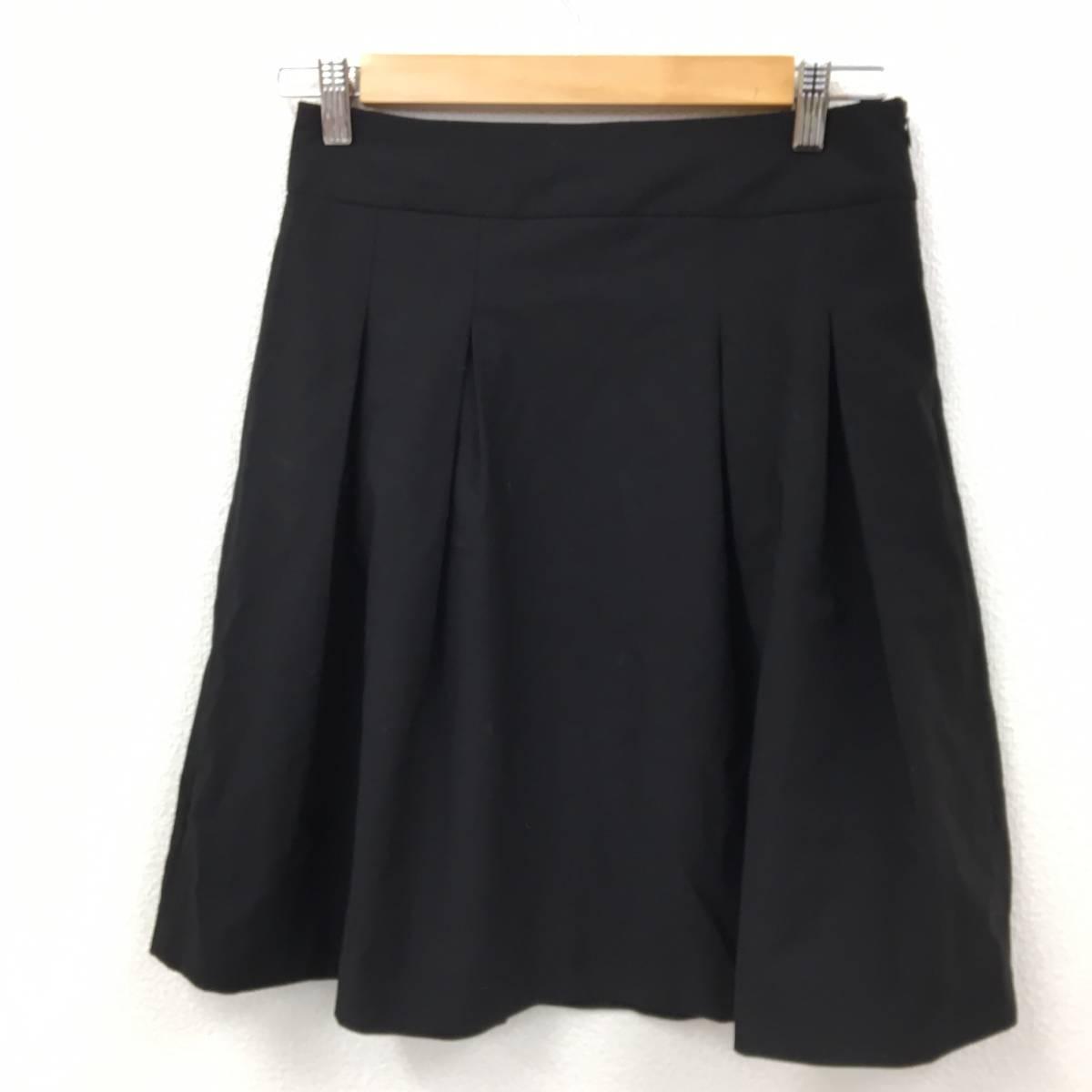 ザラ ZARA スカート 黒 USA5