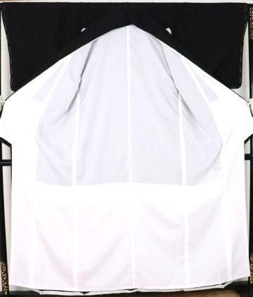 【送料無料】黒留袖★正絹★夫婦鶴 ki24325【新品】_画像5