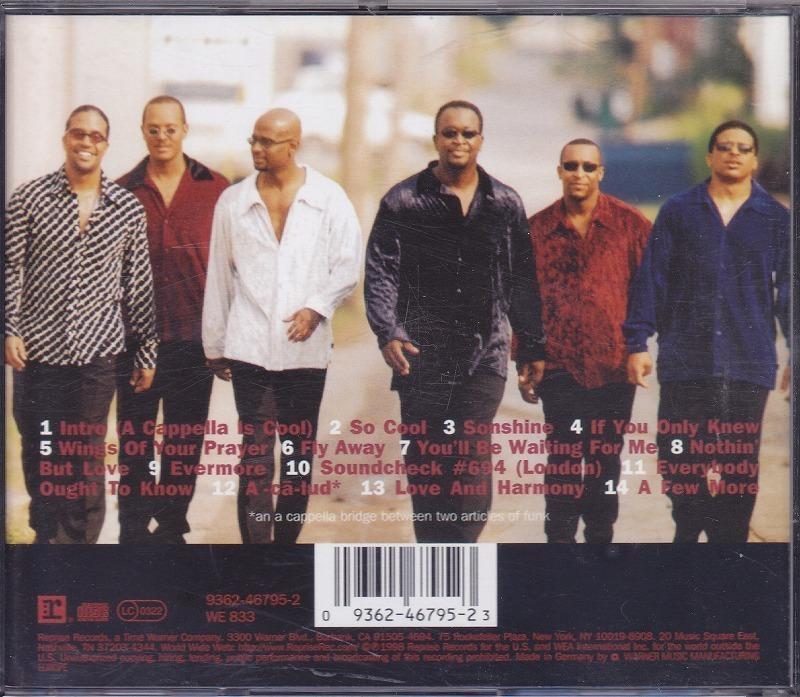 TAKE 6/テイク6/So Cool/EU盤/中古CD!! 商品管理番号:42325_画像2