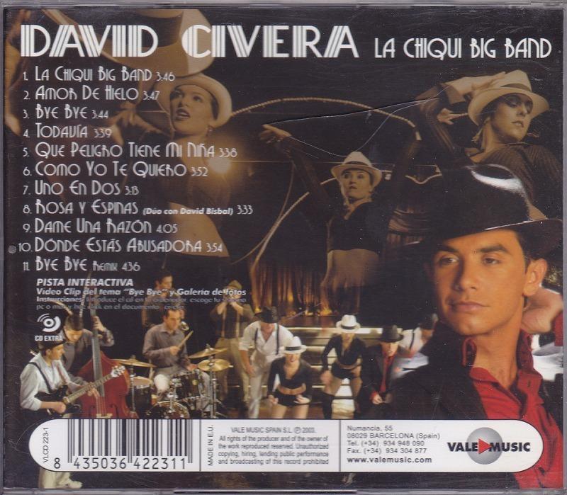 DAVID CIVERA/デビッド・シベラグラシア/LA CHIQUI BIG BAND/EU盤/中古CD!! 商品管理番号:42289_画像2