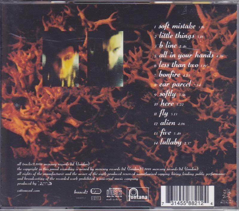 LAMB/ランブ/FEAR OF FOURS/EU盤/中古CD!! 商品管理番号:42298_画像2