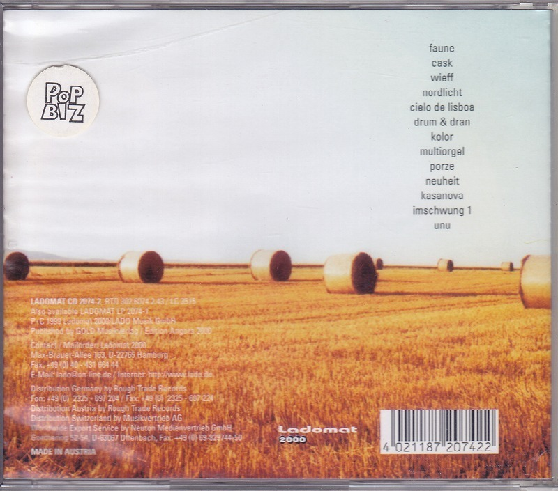 TURNER/ターナー/LUKIN ORGEL/EU盤/中古CD!! 商品管理番号:42398_画像2