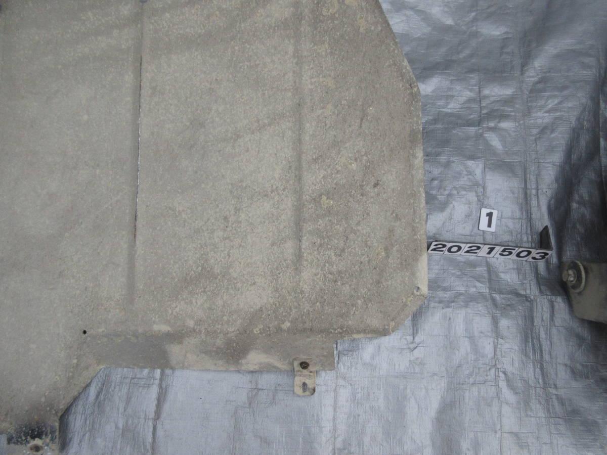 AE92 カローラ FX GT アンダーガード フューエルタンク ガード 一式_画像10