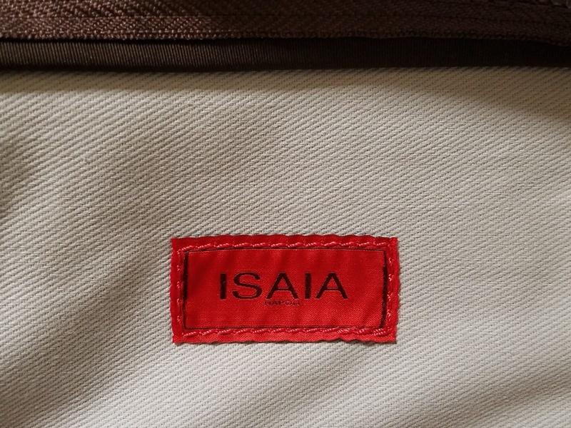 1円~30万本物新品 ISAIAイザイア 総レザーブリーフケース 茶 小細工抜きで戦えるビジネスバッグ スーツ ジャケットスタイルに_画像8