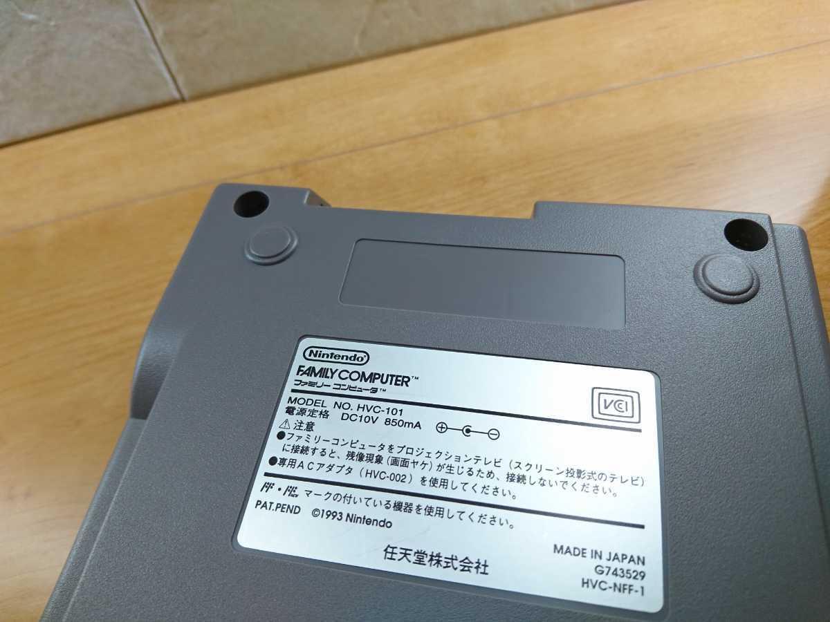 【美品】ニューファミコン 本体 コントローラー2つ 任天堂 Nintendo ファミコン本体 くにお君シリーズと108本?のソフトが遊べるカセット_画像8