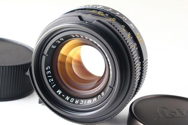 [B V.Good]Leica SUMMICRON-M 35mm f/2 E39 7-Elements Lens Leica M From JAPAN 6176