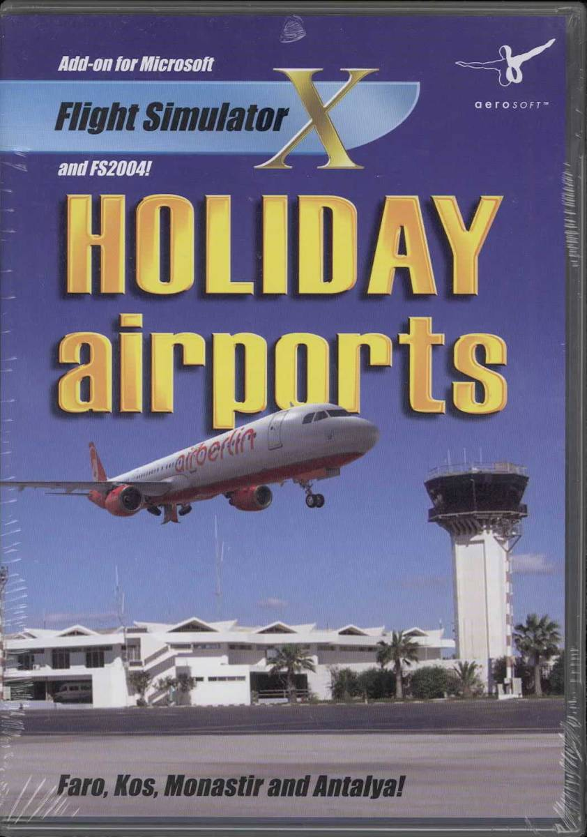 Free Shipping Holiday Airports (FSX / FS2004) add-on software