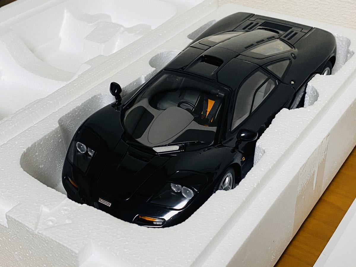 ※【絶版・未開封】76002 AUTOart オートアート マクラーレンF1 Mclaren F1 ジェットブラックメタリック Black Metallic