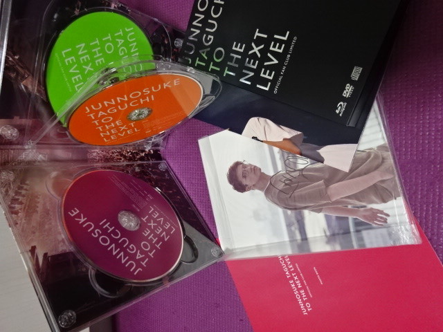 TO THE NEXT LEVEL OFFICIAL FAN CLUB LIMITED Blu-ray 田口淳之介(KAT-TUN) BD+DVD+CD 3枚組_画像2