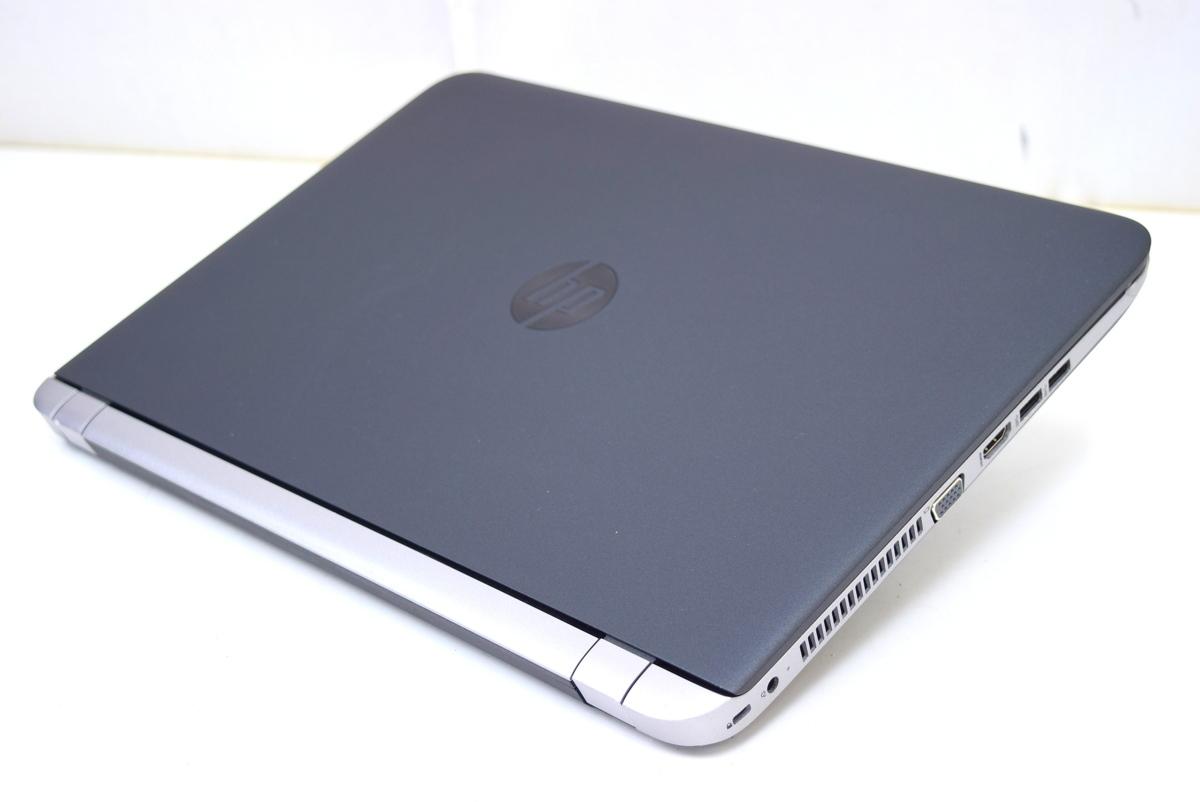 【即配】15.6インチ高画質フルHD!Corei7!ProBook 450G3 i7-6500U 8GB 500GB カメラ Office Win10_画像3