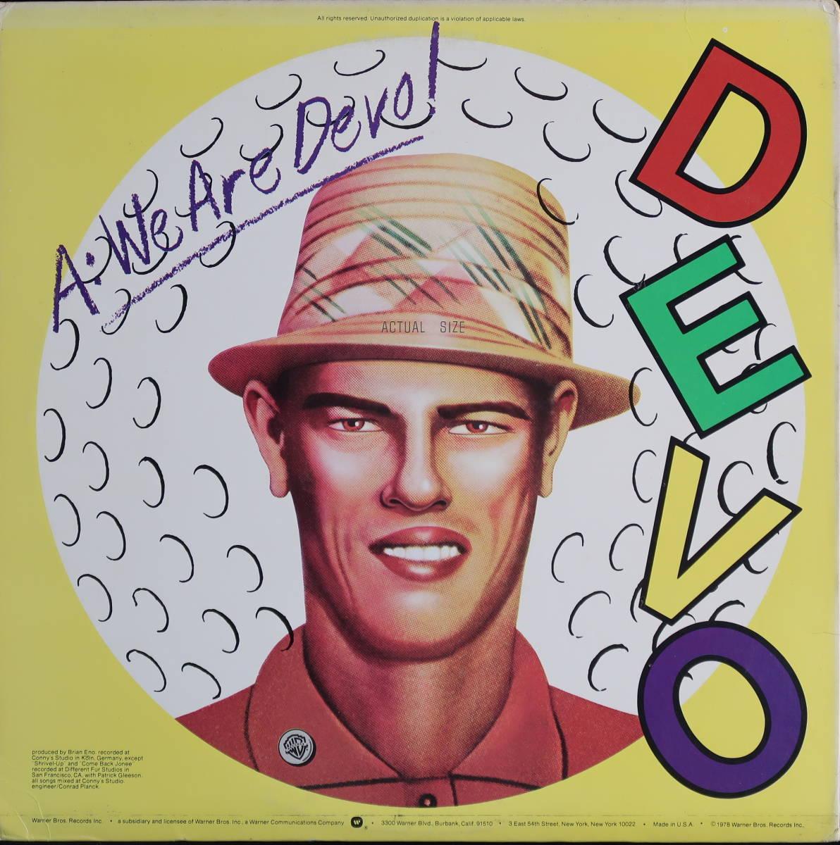 [US盤x2枚セット] DEVO :We Are Devo ! / DUTY NOW FOR THE FUTURE