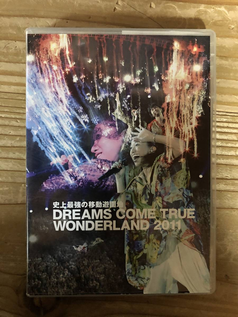 ドリカムDVD DREAMS COME TRUE WONDERLAND2011