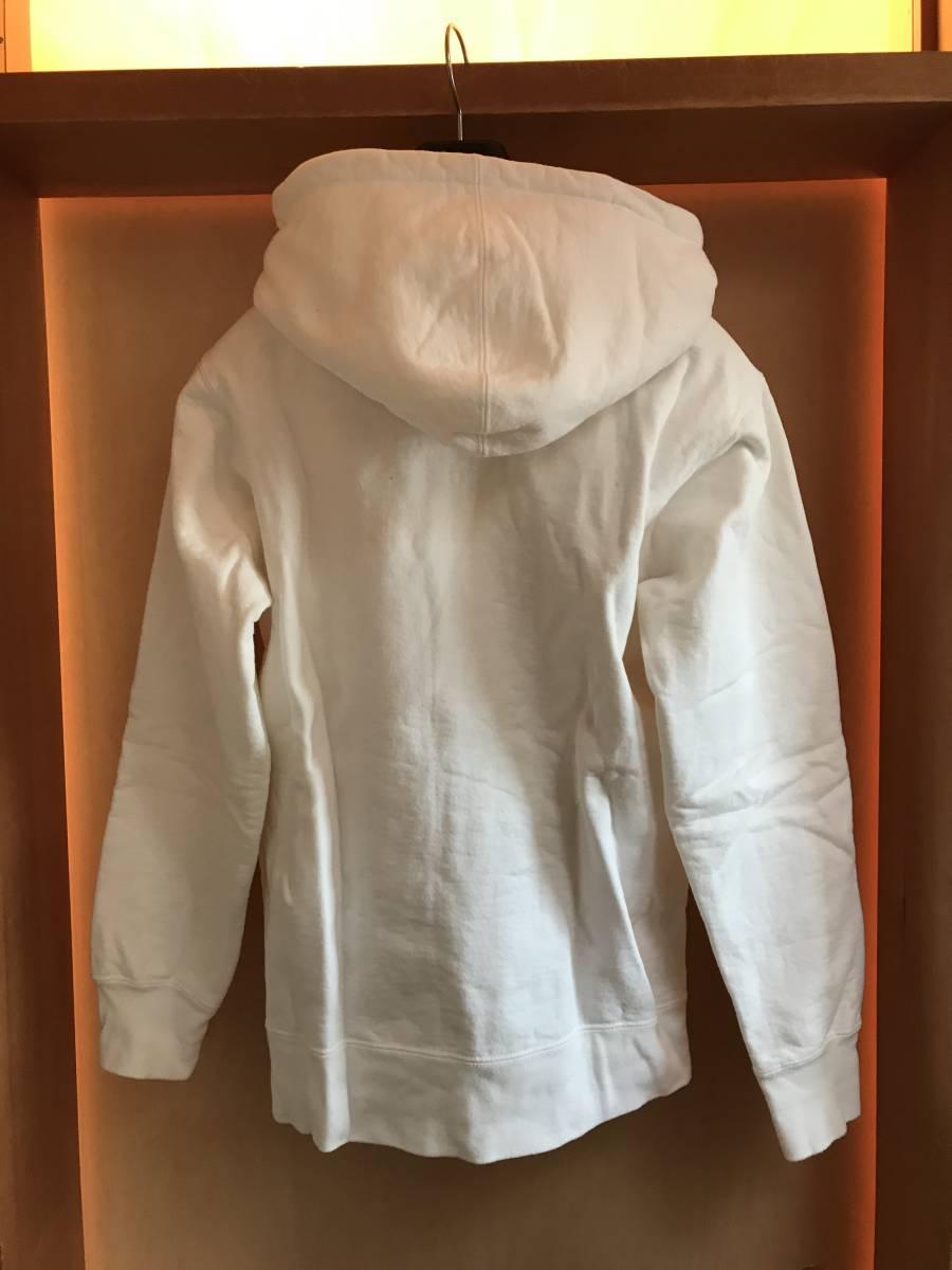 レア! シュプリーム Supreme 17AW Small Box Zip Up Sweatshirt スモール ボックスロゴ ジップアップ パーカー_画像7