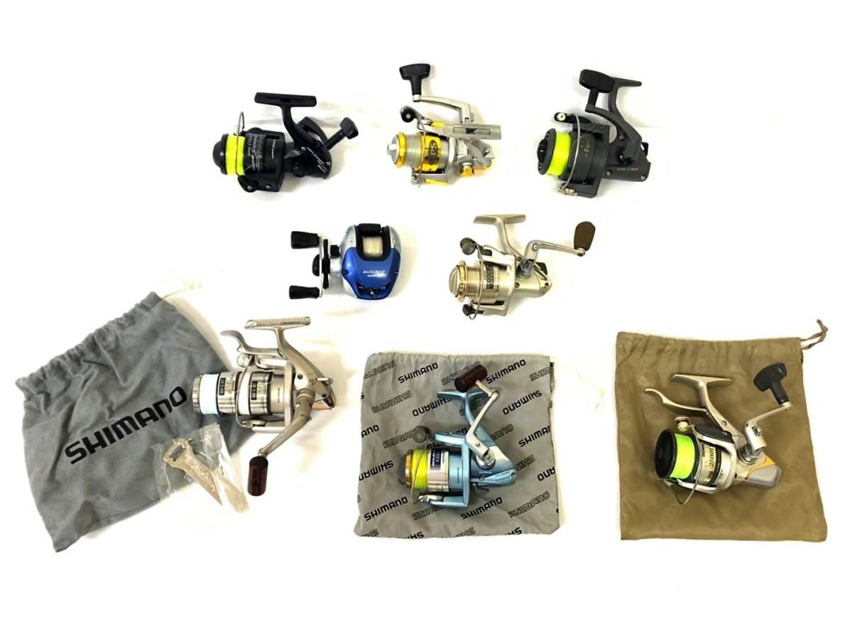【ジャンク扱い / 釣り用リール おまとめ8點 】SHIMANO シマノ / Daiwa ダイワ / EPS 3000DX / alpha tackle / TACTICS ENJOY など 釣り具