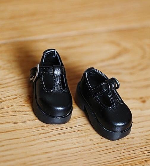 BJD人形靴1/6 幼sd ドルフィードリーム靴 黒 シューズ ブラック_画像1