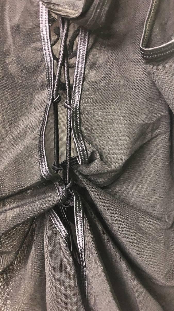 ベビードール キャミソール+Tバック 紐系 ブラック・レース スケスケ セクシーランジェリー 後ろ開き_画像4