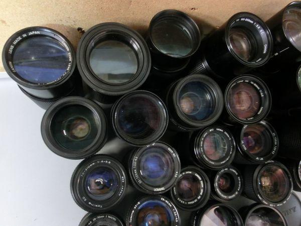5L268BB CANON NIKON PENTAX MINOLTA OLYMPUS キャノン ニコン ペンタックス ミノルタ オリンパス 用 等 レンズ まとめ売り ジャンク_画像3