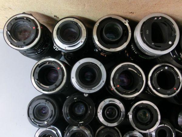5L268BB CANON NIKON PENTAX MINOLTA OLYMPUS キャノン ニコン ペンタックス ミノルタ オリンパス 用 等 レンズ まとめ売り ジャンク_画像8