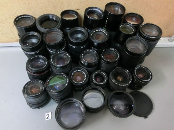 5L268BB CANON NIKON PENTAX MINOLTA OLYMPUS キャノン ニコン ペンタックス ミノルタ オリンパス 用 等 レンズ まとめ売り ジャンク_画像1