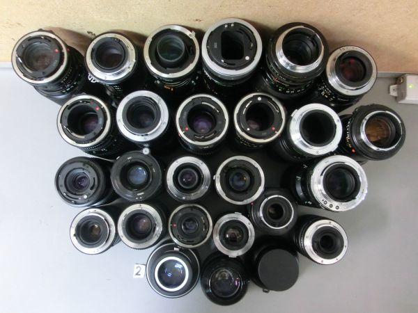 5L268BB CANON NIKON PENTAX MINOLTA OLYMPUS キャノン ニコン ペンタックス ミノルタ オリンパス 用 等 レンズ まとめ売り ジャンク_画像7
