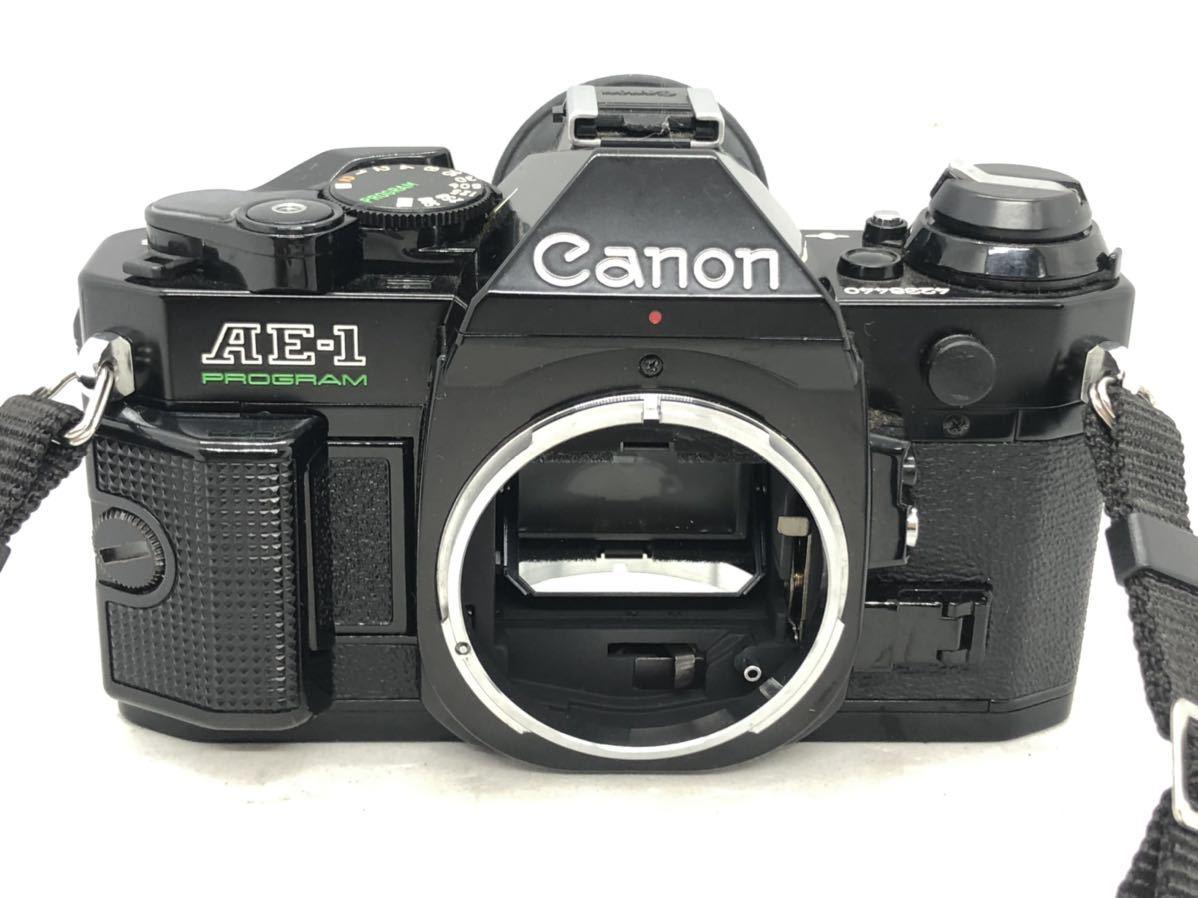 2001Snaks 1円 Canon AE-1 PROGRAM キャノン 一眼レフ フィルムカメラ Topman 1:3.5-4.5 35-70mm 1:4.5 80-200mm ボディ レンズ_画像2